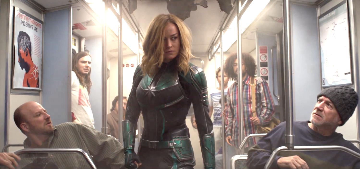 Đại Úy Marvel - Choáng Ngợp Với Sức Mạnh Không Tưởng Và Cận